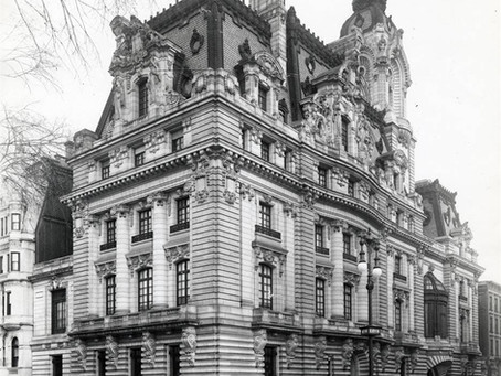 """One of New York City's Grandest Mansions to Exist: The Clark Mansion, """"Clark's Folly"""" Fifth Avenue"""