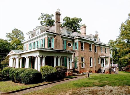 Virginia 1912 Boswell Mansion With 5,400 Sq Feet & Custom Curved Staircase Lists At Auction For 25K