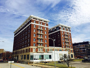 Historic McCurdy Hotel Evansville Indiana