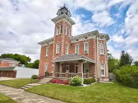 Indiana Second Empire With Original Woodwork Lists For Just $224,500! See Inside!