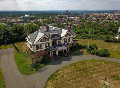 1879 MA Mansion With 12 Bedrooms, Italian Mosaic Floor, & Grand Ballroom Lists At $625K