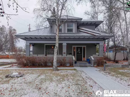8 Bedroom Alaska Bungalow With Stunning Metal Ceilings Lists At $555,000! See Inside!