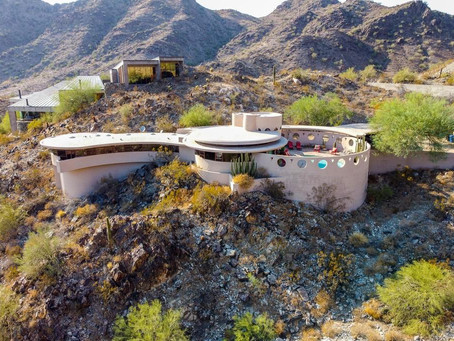 "Frank Lloyd Wright's Final Design ""Circular Sun House"" Lists For $7.95 Million, See Inside!"
