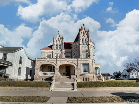 1898 Ohio Castle With Remarkable Interior Lists At $479,900. Take A Look!