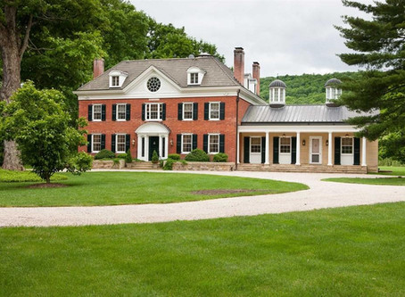 1781 Bogardus Hall With 11,000 Sq Foot, Restored Interior & 132 Country Acres Lists At $4.95M. Look!