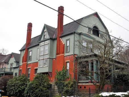 1891 Pennsylvania Victorian With 14 Stained Glass Windows Lists For Just $179,900! See Inside!