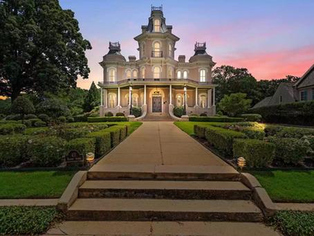 1877 Lanneau-Norwood Mansion With Velvet Walls & Original Features Lists At $2.3 Million!