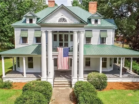 6 Bedroom North Carolina Mansion With 8 Fireplaces Lists At Just $224,900! See Inside!