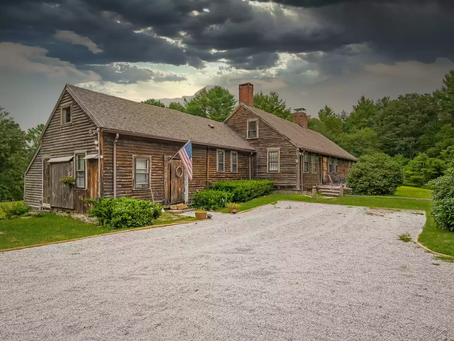 """Haunted """"The Conjuring"""" House Built in 1836 Lists For $1.2 Mil! See Inside!"""