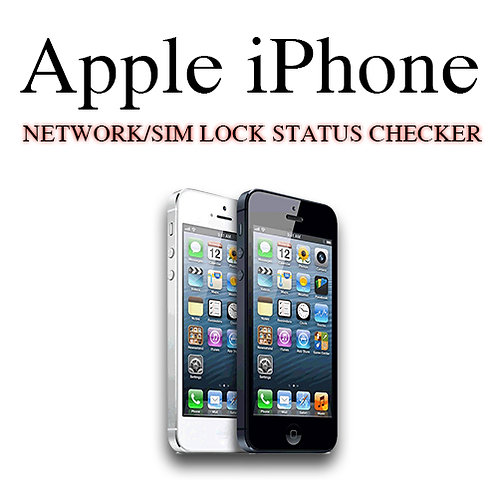 Apple iPhone Network Lock Checker