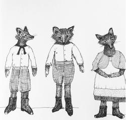 Drawing: Character Sketch