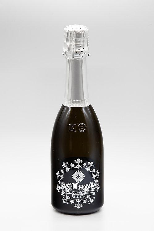 Brillante Cristal Brut オリジナル彫刻ボトル 375ml  (ブリランテ クリスタルブリュット)