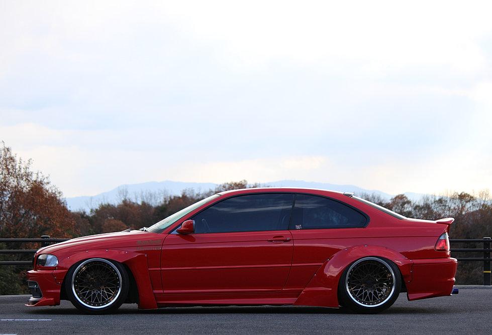 How To Buff A Car >> ミツルホイールズ ヤバKING | BMW E46