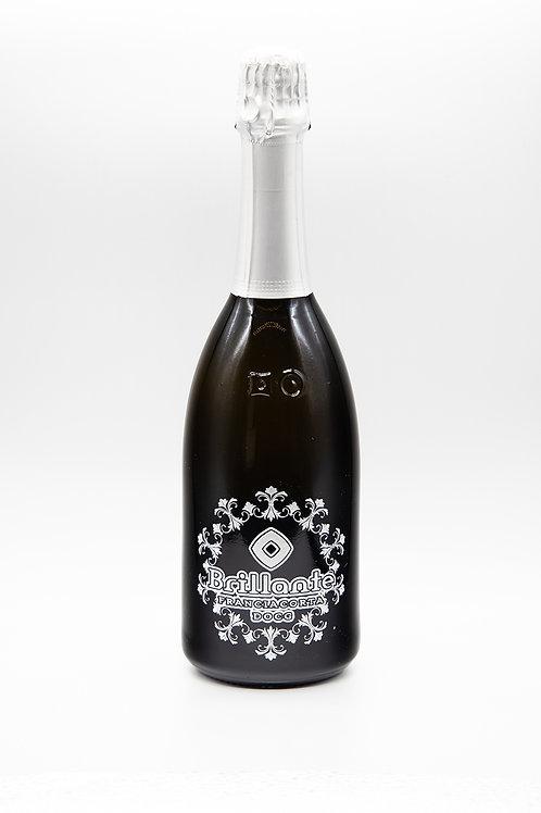 Brillante Cristal Brut オリジナル彫刻ボトル 750ml  (ブリランテ クリスタルブリュット)