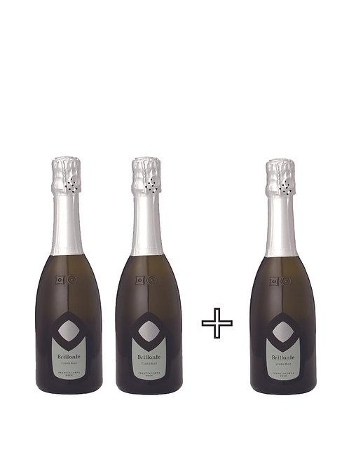 お家でブリランテセットB Brillante Cristal Brut 375ml  (ブリランテ クリスタルブリュット)