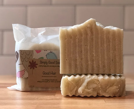 Good Hair solid shampoo bar/ normal to oily hair
