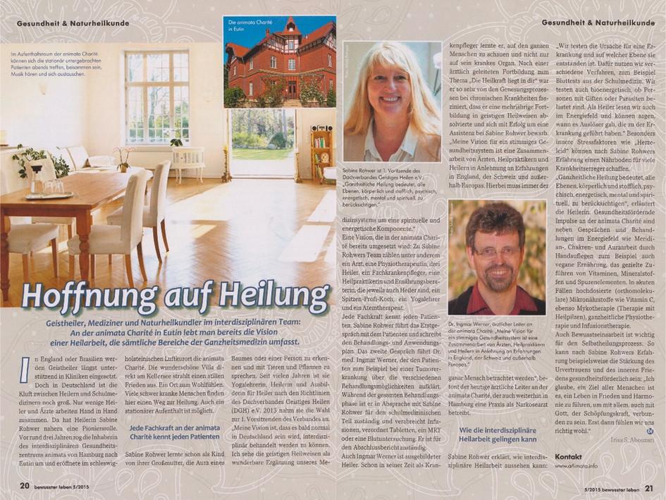 Bewusster leben 05/2015