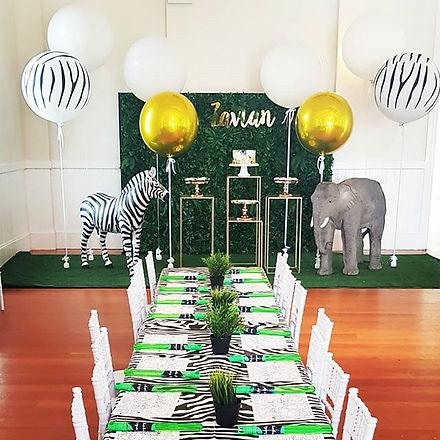 Zavian's Jungle theme 1st Birthday! When