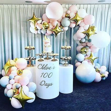 Chloe's 100 days celebration! _How cute