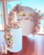 A gorgeous display for Sherrie's Bridal