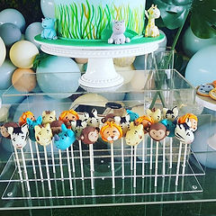 The cutest Jungle animal cake pops _popo
