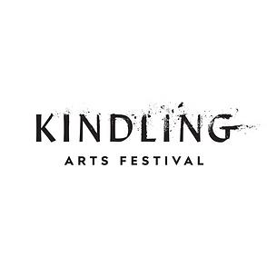 Kindling Logo - Black on White Square.pn