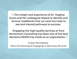 Testimonial from Julian Plumadore,  Peers Envisioning & Engaging in Recovery Services