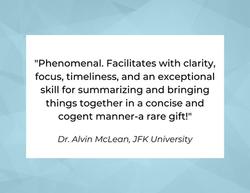 Dr. Alvin McLean, JFK University