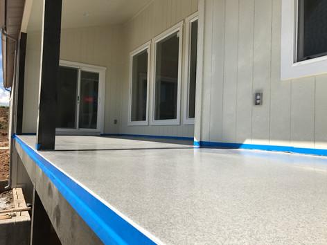 Waterproof Solid Surface Deck