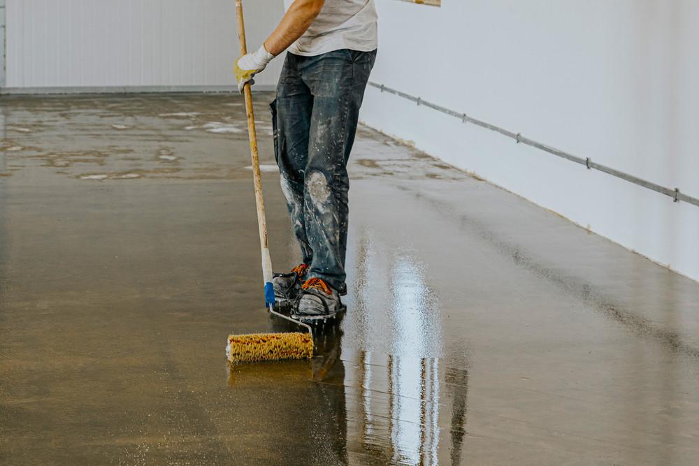 thickness ranges epoxy floor coatings