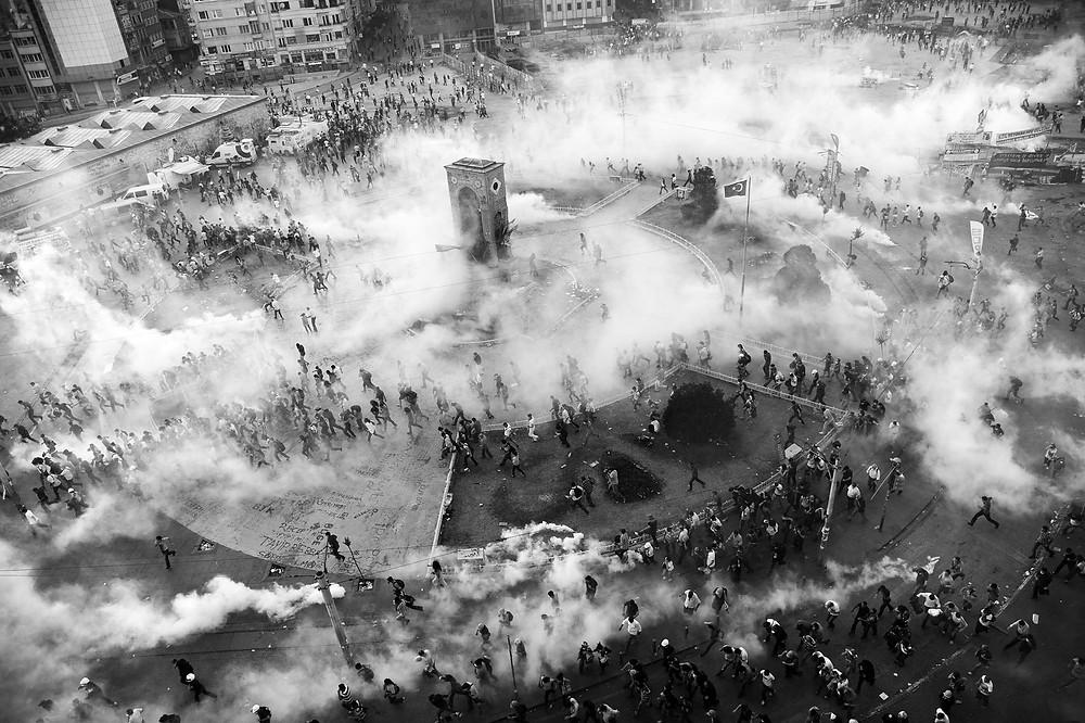 Taksim Square.