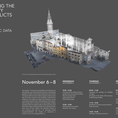 Workshop 3D Semantic Data Modelling