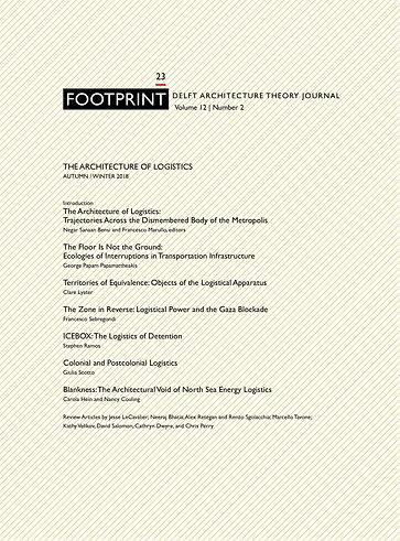 The Architecture of Logistics