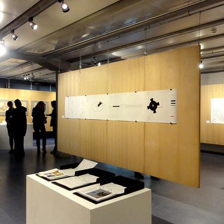 Moon Walk Map exhibited in Berlin