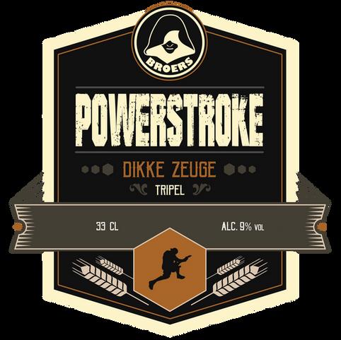 Powerstroke beer 'Dikke Zeuge'