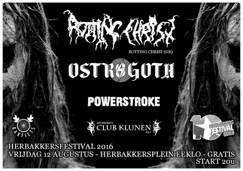 Show with ROTTING CHRIST and OSTROGOTH!