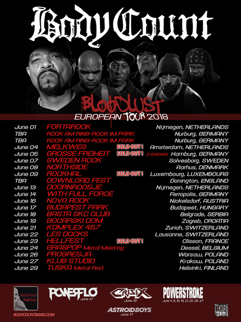 Tour with Body Count