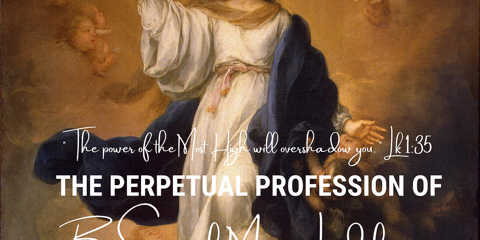 The Perpetual Profession of Br Samuel Mary Leidel, csj