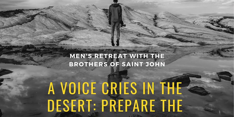 Men's Retreat with the Brothers of St John