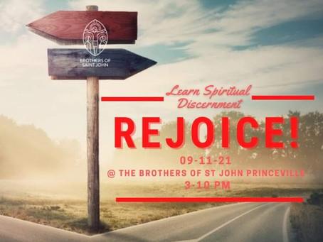 "Rejoice ""mini"" retreat"