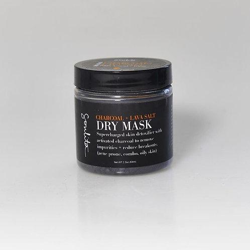 Charcoal + Lava Salt Dry Mask