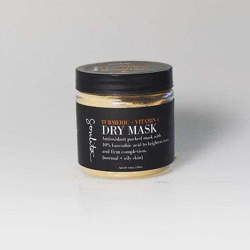 Turmeric + Vitamin C Dry Mask