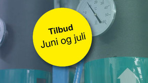 Sommertilbud på analyser fra kjøleanlegg!