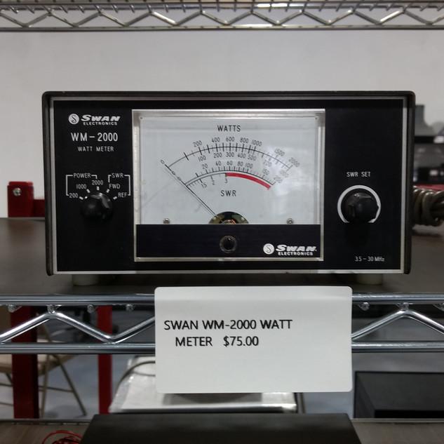 Swan WM 2000 watt meter