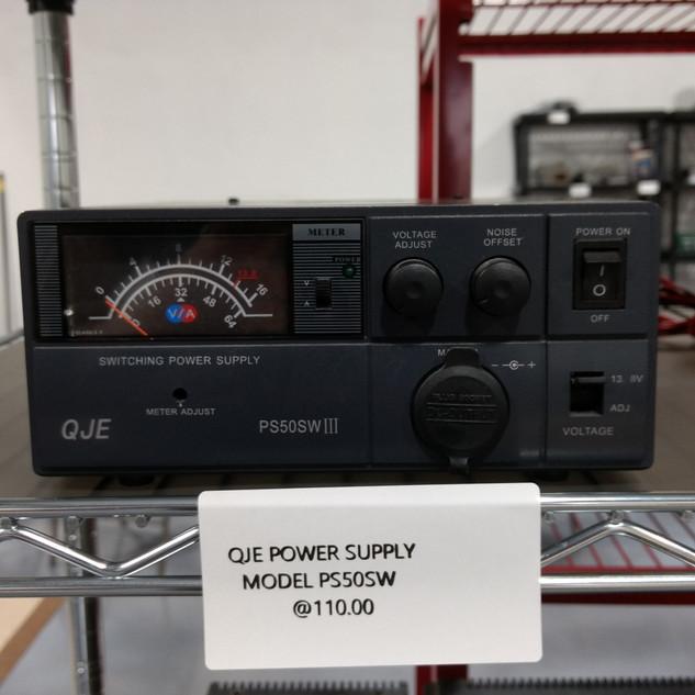 QJE power supply model PS50SW