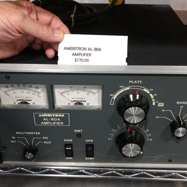 Ameritron AL-80A amplifier