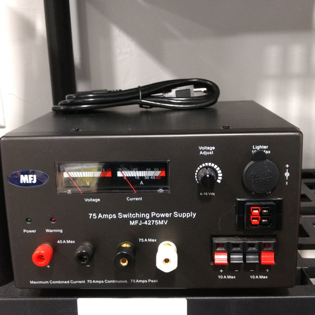 MFJ 4275 MV supply 75 AMP