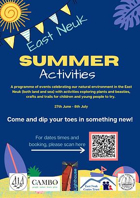 East Neuk SUMMER Activities Poster (1).p