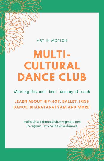 Multi-Cultural Dance Club