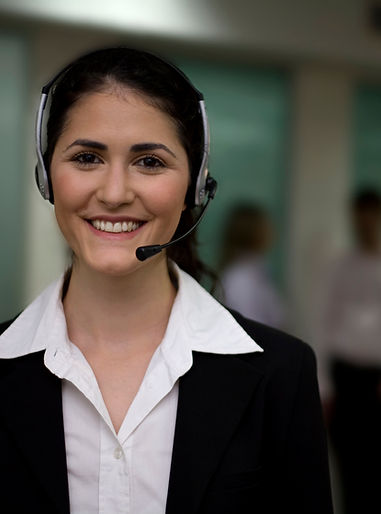 The American Society of Professional Copywriters: The CopyPros customer service representative receiving calls from copywriters.